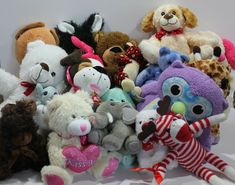 Lot of 20 Plush Stuffed Animal Toys Reseller Daycare Collector Special Characters, Pet Toys, Plush, Teddy Bear, Animals, Animales, Animaux, Teddy Bears, Animal