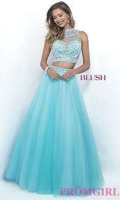 A-Line Illusion Sweetheart Sheer Back Prom Dress at PromGirl.com