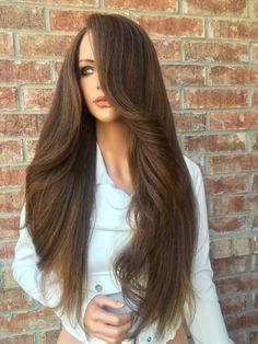 "Deena Light Honey Lace Front Wig 24"""