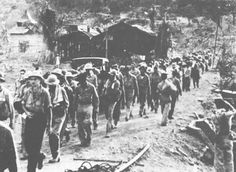 Bataan - The Day After the Surrender Bataan Death March, Philippines Culture, Prisoners Of War, American Soldiers, World War Two, Historical Photos, Continents, Memorial Day, Old Photos