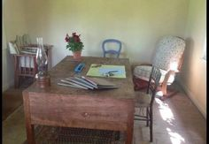 Virginia's Private Writing Room