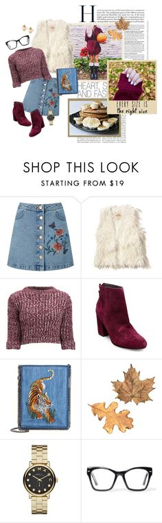 """""""Untitled #989"""" by gabi-sweet ❤ liked on Polyvore featuring Miss Selfridge, Hollister Co., Girls On Film, Steve Madden, STELLA McCARTNEY, Marc by Marc Jacobs, Spitfire and Valentino"""