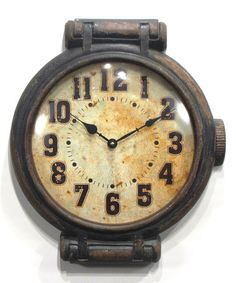 Look at this #zulilyfind! Wristwatch Wall Clock #zulilyfinds