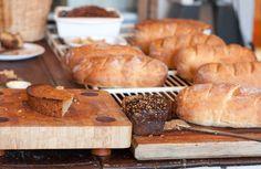 Lovely daily home bakes, Cafe Paradiso, Kloof Street. Bread, Baking, Street, Food, Bakken, Roads, Meals, Breads, Backen
