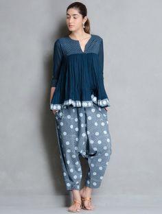 product cache 1 thumbnail d d Salwar Designs, Blouse Designs, Pakistani Dresses, Indian Dresses, Indian Outfits, Indigo, Fashion Models, Look Short, Mode Hijab