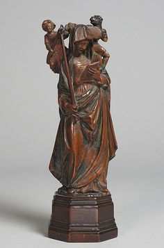 Saint Geneviève  Date:     second half 15th century Geography:     Made in Paris Culture:     French Medium:     Boxwood