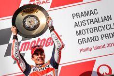 Winner... 2015 MotoGP Rd.16 Australia GP, Final. Pole to win.