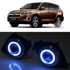 93.99$  Buy here - http://alia0d.worldwells.pw/go.php?t=1770878507 - Details about  Innovative COB Fog Light Angel Eye Bumper Projector Lens for Toyota RAV4 09-11 93.99$