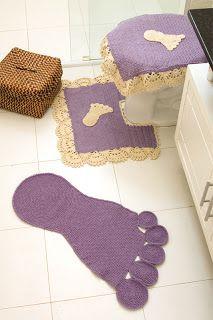 D'iDéias Arte Crochê: moldes e passo a passo