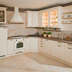 Kuchyně - fotogalerie a inspirace - Favi.cz Ibiza, Sweet Home, Kitchen Cabinets, Home Decor, Kitchens, Ideas, Decoration Home, House Beautiful, Room Decor