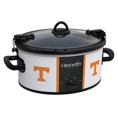 Tennessee Volunteers Collegiate Crock-Pot® Cook Attention all those that attend our annual football kick off party... this will be needed for this years pulled pork!