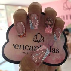 Cute Acrylic Nails, Gel Nails, Super Cute Nails, Short Nails, Swag Nails, Pedicure, Nail Designs, Lily, Nail Art