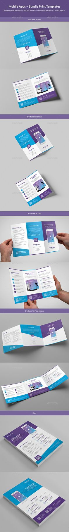 Mobile Apps – Bundle Print Templates