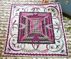 Vintage 1960s Emilio Pucci Fuilio Cotton Handkerchief or Pocket Square via Etsy