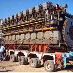 10 Biggest Engines In The World Marine Engineering, Mechanical Engineering, Motor Engine, Car Engine, Fokker Dr1, Fairbanks Morse, Motor Diesel, Road Train, Performance Engines