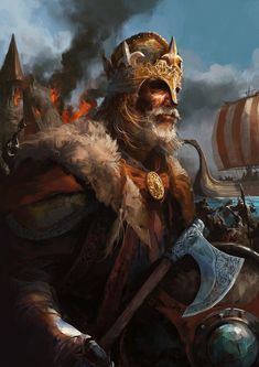 Viking Warrior by Jaywong001.deviantart.com on @deviantART