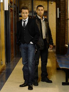 A Brother from Another Mother: Detective Duo Esposito and Ryan from ABC's Castle.  These two are the best thing about that show, except for Nathan Fillion's hotness.