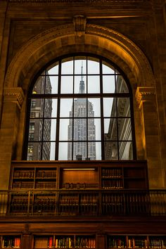 New York Public Library - Fifth Avenue & 42nd Street Manhattan, NY - 'Room with a view.'