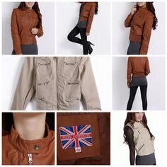 Detail:EQ 188 Leather Jacket (BEIGE size L,XL)Excellent QualityFabric PU Leather, Not ElasticSize M.L.XL in cmBust (84,86,88)  Shoulder (36,37,38) Sleeve (59,60,61) Length (55,56,57)with Lining sebelum membeli tanyakan ketersediaan stok terlebih dahulu infowa 081237304540 bb pin 551fd9be Happy shopping