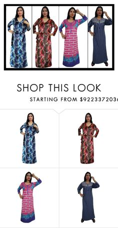 """""""#WINTER NIGHT GOWN"""" by lavanyas-trendzs ❤ liked on Polyvore"""