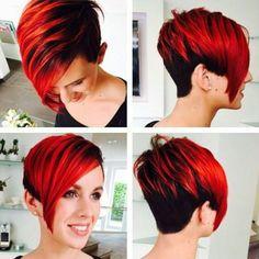 Die 11 tollsten Farben in kurzen Haaren für Frauen mit MUT! - Neue Frisur