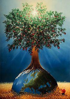 L'arbre de Vie par Raphaël Toussaint