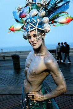 Mermaid Parade 2009 by siberfi, via Flickr