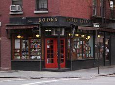 Threre Lives, Greenwich Village Bookstore