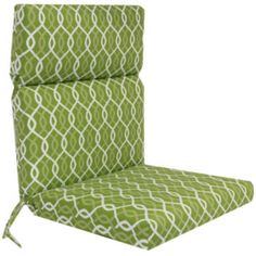 jcp | Outdoor Oasis™ Ogee Chain-Link Outdoor Chair Cushion