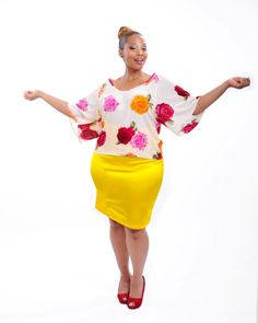 Get In To Win 1 of 2 Sassy Tops Made With Your Curves In Mind From Stiletto Siren & Wole' Designs!