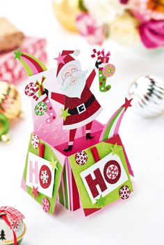 Make a 3-D Christmas calendar and pop-up card in the December issue of Crafts Beautiful, on sale 9th November 2017.