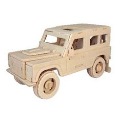Woodcraft Construction Kit - Land Rover (7+) from C & H