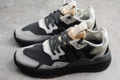 f74bc2c7bdcb5 adidas Nite Jogger 2019 Black Grey-Creamy White Men s Size. Yeezy Boost 2019