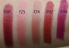 117 Inglot Lipstick Swatches !! http://www.glossypolish.com/117-inglot-lipstick-swatches/