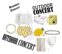 """""""Summer Concert Fashion"""" by emicatherine ❤ liked on Polyvore featuring Converse, Kate Spade, Carole, Monsoon and Wanderlust + Co"""