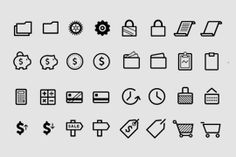 Ecommerce Icons Package Download from SumAll Icon, Vector, Commerce, Data, Social Media, Community, Ideas, Growth, Success Get the font free here: http://sum.al/bT5q