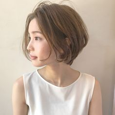 Pin on short Korean Short Hair, Short Wavy Hair, Cute Hairstyles For Short Hair, Girl Short Hair, Pixie Hairstyles, Short Hair Styles, Hair Inspo, Hair Inspiration, Aesthetic Hair
