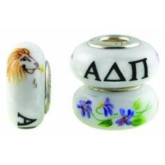 #sororitypandoracharms Alpha Delta Pi Pandora Charms and Alpha Delta Pi beads for Pandora style bracelets