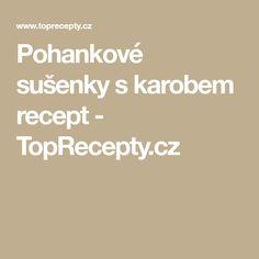 Pohankové sušenky s karobem recept - TopRecepty.cz