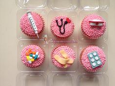 Cupcakes para el día de la enfermera