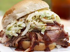Pulled Pork Sandwiches Recipe : Patrick and Gina Neely : Food Network
