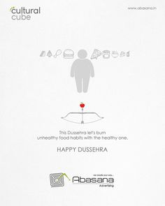 This Dussehra let's burn unhealthy food habits with the healthy one. Creative Banners, Ads Creative, Creative Posters, Creative Advertising, Creative Director, Social Media Banner, Social Media Design, Dussehra Wallpapers, Happy Dussehra Wishes