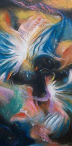 Life and Death 15 - oils on canvas #art #abstractart #abstractpainting #painting #abstract #johncarwithen