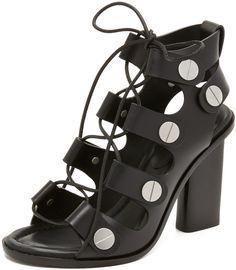 Alexander Wang Ilse Lace Up Sandals