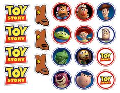 Make beautiful, professional-looking cupcakes to keep the Toy Story make believe going with our edible image toppers!!! Description Wafer paper (rice paper) is a great way to add color and detail to c