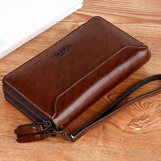 PU Clucth Wallets Handy Bags Phone Card Holder Wallet for Men BazaCenters.