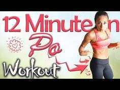Intensives PO WORKOUT für Zuhause - Neue MEGA Übungen - In 12 Min den Hintern effektiv trainieren - YouTube