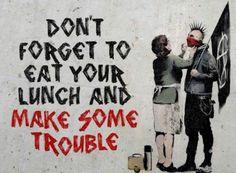 Mothers Day Artist: Banksy #streetart
