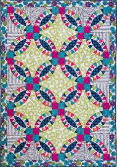 Robin Ruth's Pickle Dish quilt pattern by Robin Ruth Designs for Checkers Simple Compass, Baseball Quilt, Sunflower Quilts, Mariners Compass, Fish Quilt, Wedding Ring Quilt, Colorful Quilts, Windham Fabrics, Diamond Quilt