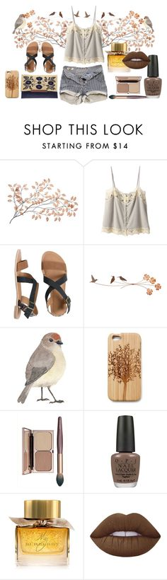 """""""summer Breeze"""" by cryztalanna-1 on Polyvore featuring Pull&Bear, Bilitis dix-sept ans, IPANEMA, Mar y Sol, Lucky Brand, OPI, Burberry and Lime Crime"""
